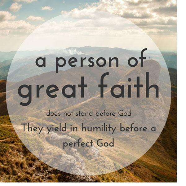 Stewarding Great Faith